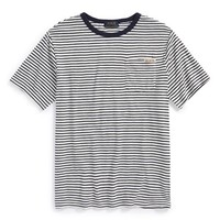 Boy's Ralph Lauren Stripe Crewneck T-Shirt,