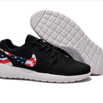 "Love ""NIKE"" United States flag Trending Fashion Casual Sports Shoes"