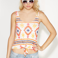 Fearless Leader Aztec Top