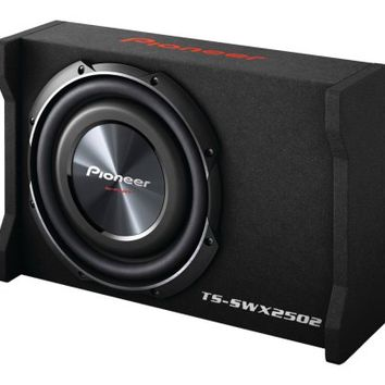 "Pioneer® TSSWX2502 - 10"" Shallow Mount 1200W 4 Ohm Preloaded Subwoofer"