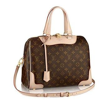 Authentic Louis Vuitton Monogram Canvas Retiro NM Tote Handbag Article:M50056 Brown Made in France
