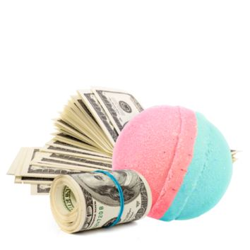 Cash Bath Bombs