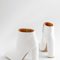 Natural Wonder - White Patent