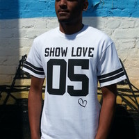 Lo Key — Show Love Baseball T/Shirts