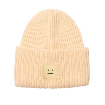 Pansy ribbed-knit wool beanie | Acne Studios | MATCHESFASHION.COM US