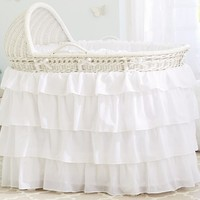 Bassinet and Mattress Pad Set