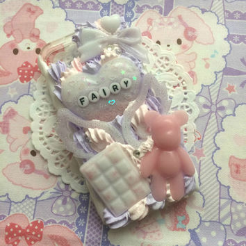 Made To Order!  Fairy Decoden Phone Case