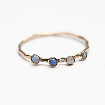 Lili Claspe for Free People Womens Crown Opal Delicate Ring