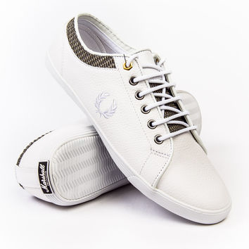 Fred Perry Kingston Leather X Marshall White Sneaker