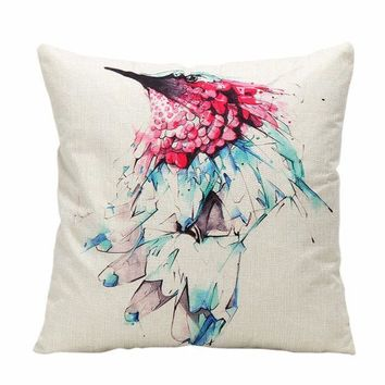 Home - Animal Ink Painting Pillow Cover