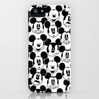 Mickey Mouse iPhone & iPod Case by Pink Berry Pattern