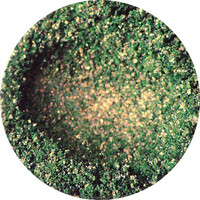 Moss Green with Copper Shift and Shimmers Vegan Loose or Pressed Eyeshadow Pigment - Fatigues