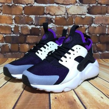 NIKE new Tide shoes casual shoes sports shoes Gray and black purple