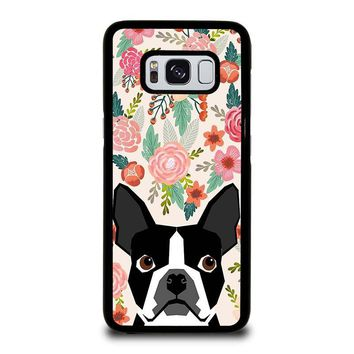 BOSTON TERRIER DOG BREED Samsung Galaxy S3 S4 S5 S6 S7 Edge S8 Plus, Note 3 4 5 8 Case Cover