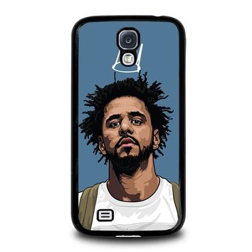 j cole forest cartoon samsung galaxy s4 case cover  number 3