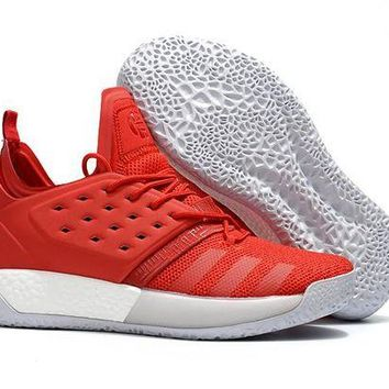 ADIDAS HARDEN VOL. 2 RED BASKETBALL SHOE