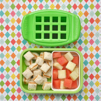 NEW NIP awesome FUNBITES Bite Size Food Cutters - cube it! $15