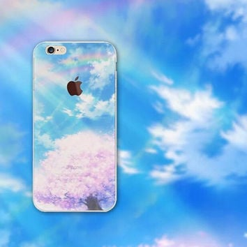Beautiful Rainbow iPhone 5S 6 6S Plus Case + Gift Box-126