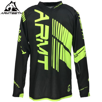 2017 Armteeth Hot Sale Motocross Jerseys Dirt bike Cycling Bicycle MTB Downhill Shirts motorcycle Racing Jersey Size; S-5XL