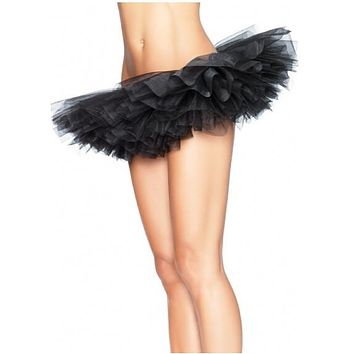 sexy short tutu ballerina mini skirt tulle petticoat burlesque black blue orange purple white
