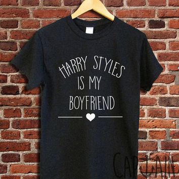 Harry styles shirt harry styles is my boyfriend unisex tshirt