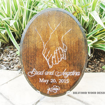 Personalized Wedding Gift for Couples// for Her Him Newlywed Engagement - Anniversary Gift
