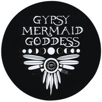 Rip Curl Gypsy Mermaid Sticker Black One Size For Women 25627710001
