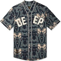 10.Deep Navy Stealing Home Baseball Shirt