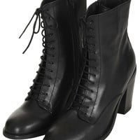 ABRA Lace Up Witch Boots