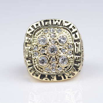 factory sales 1990 Replica Ice Hockey Edmonton Oilers  Championship ring for fans free shipping
