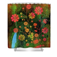 Wild With Color Shower Curtain
