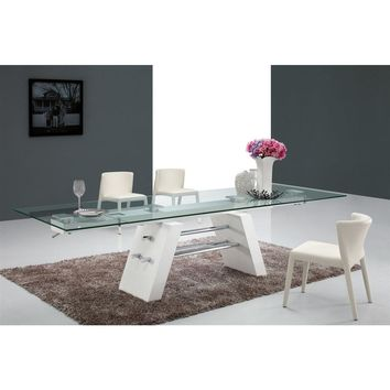Casabianca Evolution Collection CB-D2046XL Extendable Dining Table