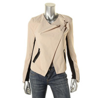 Romeo & Juliet Couture Womens Georgette Mixed Media Blazer