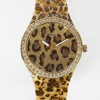 Guess Animal Print Watch - Women's Watches | Buckle