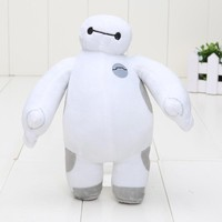18CM Baymax Robot The big hero 6 plush toy Baymax plush dolls toy soft stuffed kids toy Free shipping