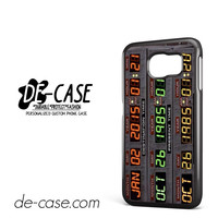 Back To The Future Date For Samsung Galaxy S6 Samsung Galaxy S6 Edge Samsung Galaxy S6 Edge Plus Case Phone Case Gift Present YO