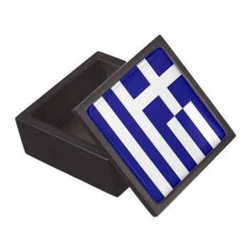 Greek Flag Premium Gift Box