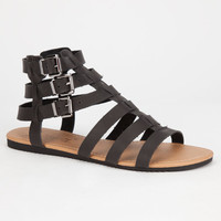 Celebrity Nyc Olive Womens Sandals Black  In Sizes