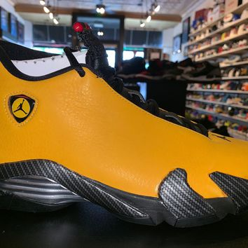 "Air Jordan 14""Ferrari University Gold"""