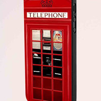 Vintage London K2 Phone Booth iPhone 5 Case
