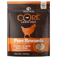 Wellness CORE Natural Grain Free Pure Rewards Chicken & Lamb Recipe Jerky Bites Dog Treats | Petco