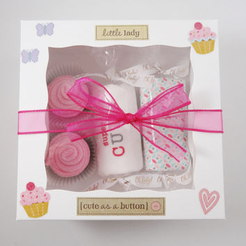 Unique Baby Girl Gift  - 3 month girl gift - Super Cute