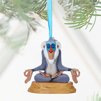 Disney Store 2016 The Lion King Rafiki Sketchbook Christmas Ornament New Tags