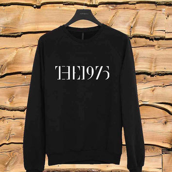 the 1975 Band logo sweater Sweatshirt Crewneck Men or Women Unisex Size