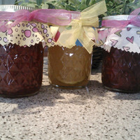 Marmalade/Jam/Jelly Mother's Day Gift Pack/ ANY 3 /  8 oz. jars/ Treasury Item/ Featured on ETSY Home Page