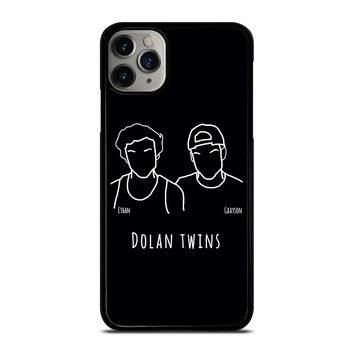 DOLAN TWINS DRAWING CARTOON iPhone Case Cover