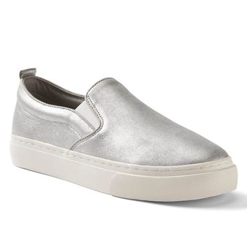 Leather slip-on sneakers | Gap
