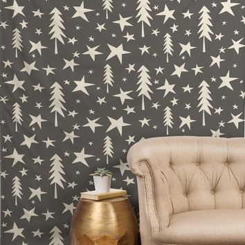 Heather Dutton Wish Upon A Star Grey Tapestry