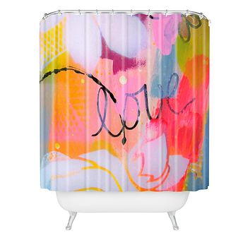 Natalie Baca Spring Love Shower Curtain