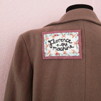 Floral Florence and the Machine Patch